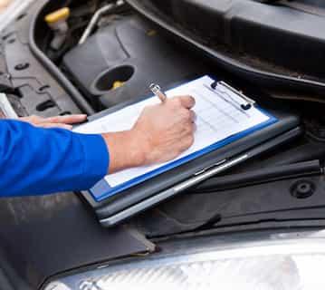 Get a Vehicle Inspection at DJs Garage in Banff
