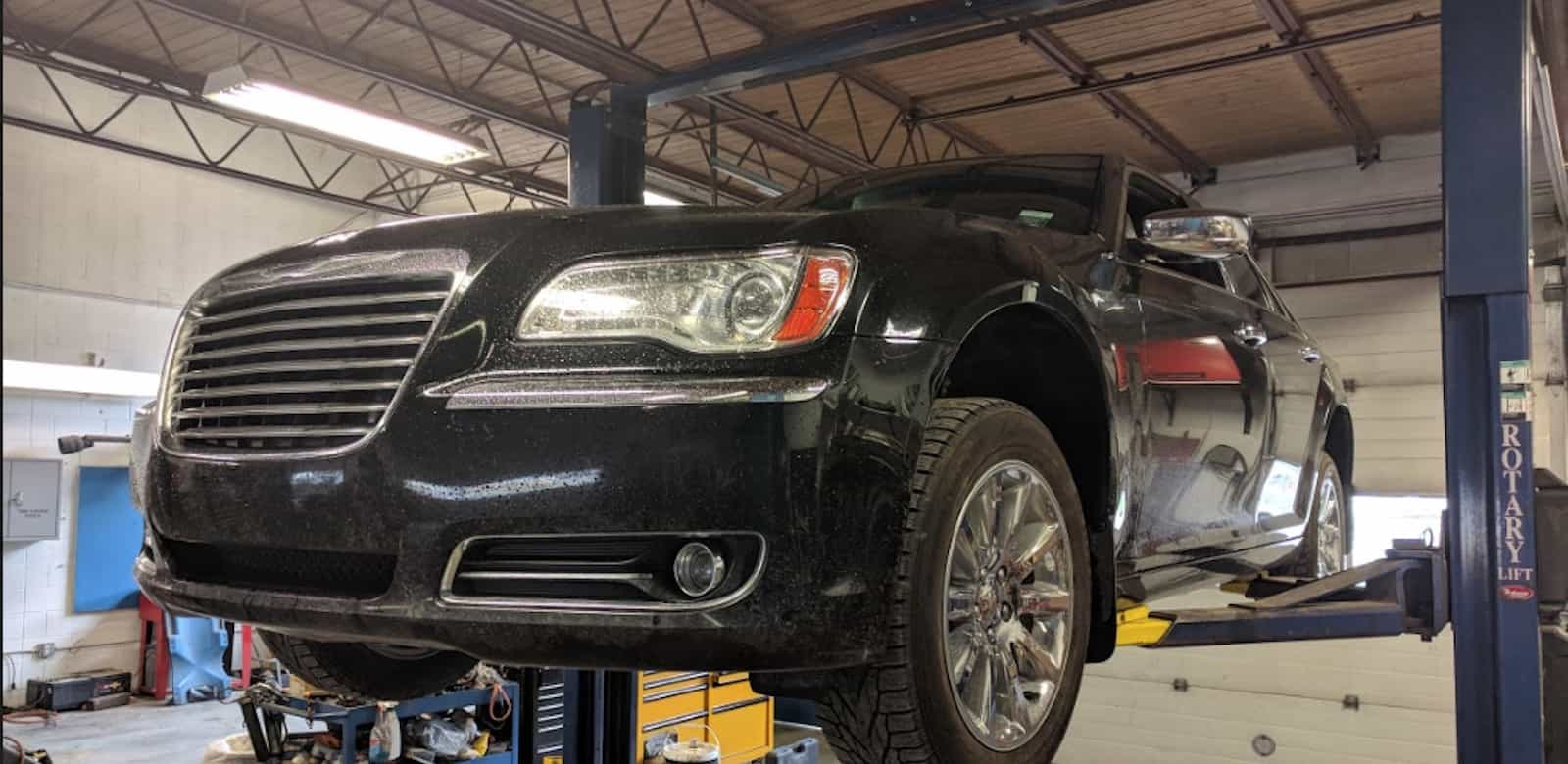 Get your car serviced at DJs Garage slider